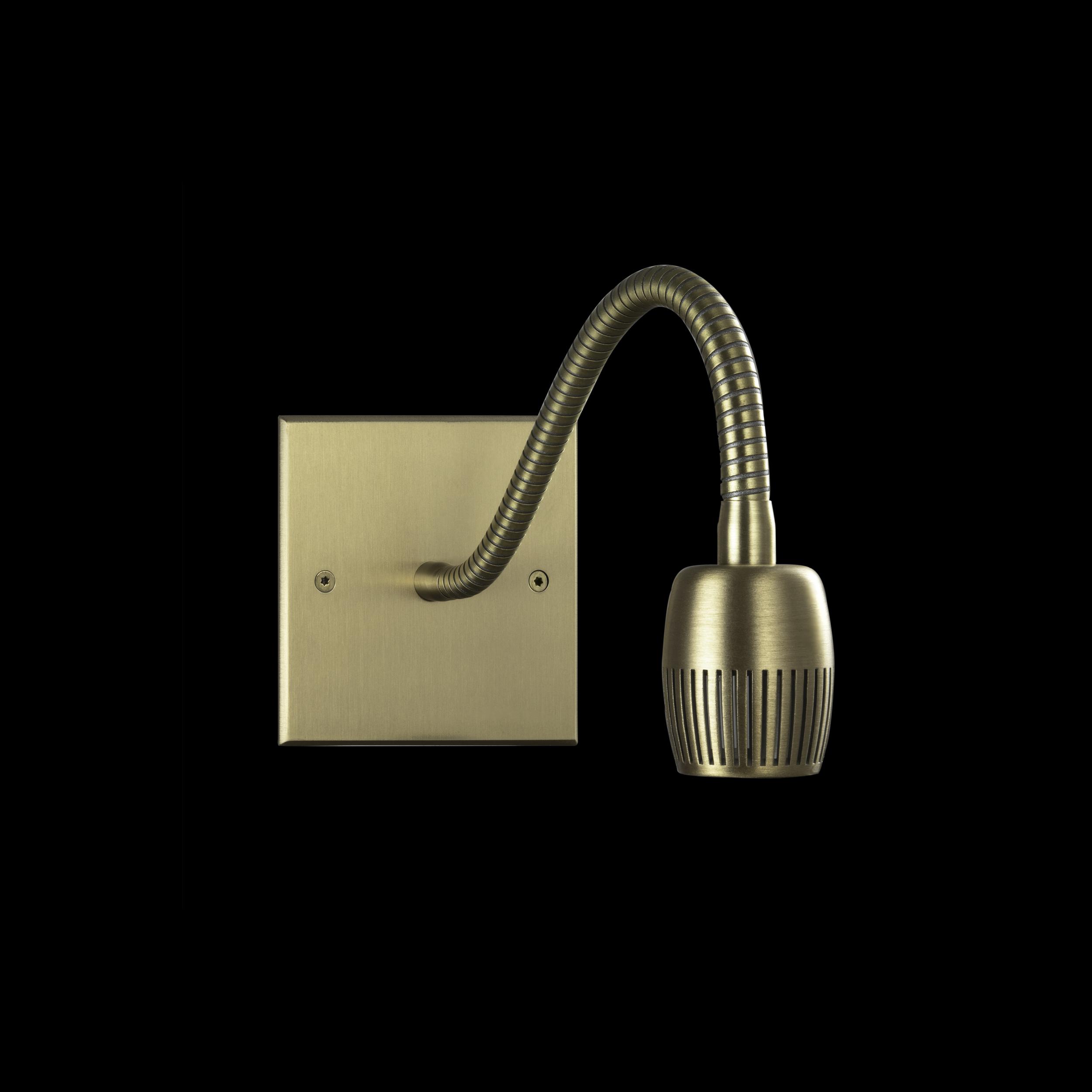 LB Brushed Brass patina