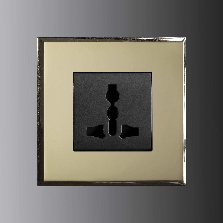 LM Mirror Brass patina