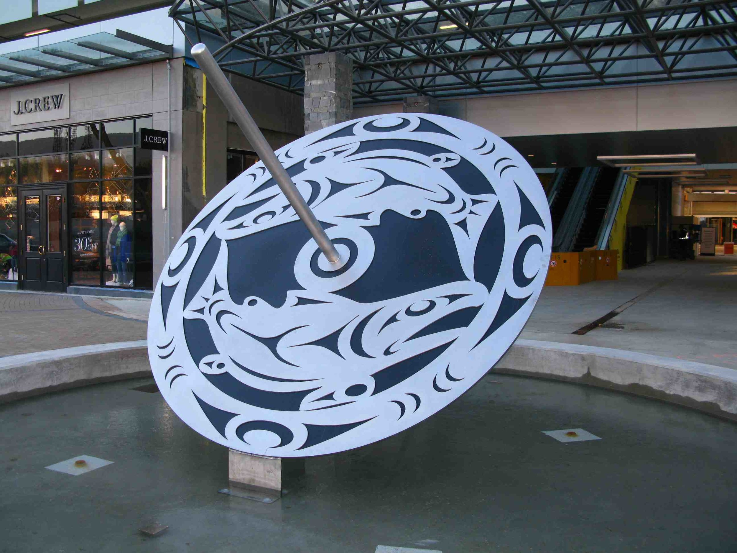 Jody Broomfield, Salmon Spindle Whorl, 2013