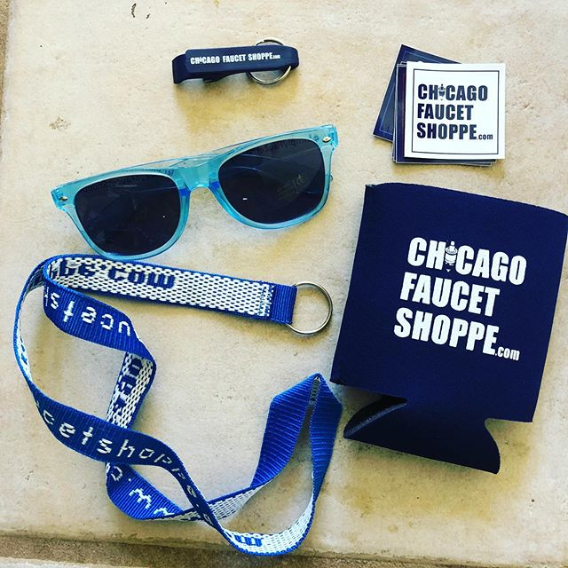 Thanks #chicagofaucetshoppe for the great swag!!