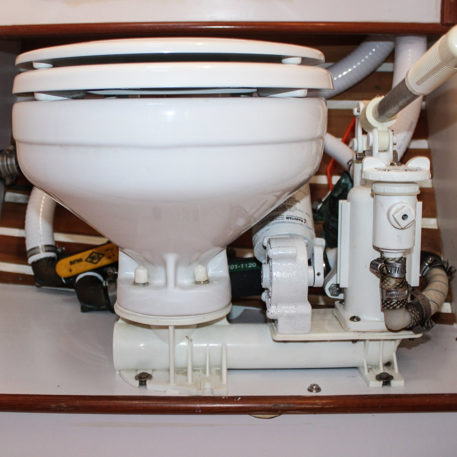 """Toilet Trouble - If you come out on Agape we have no shame. One of the first things you will have to listen to is one of us give the """"how to use the head"""" talk. You see, on land plumbing is much different and much more forgiving. If something does go wrong, you just call a plumber and ta-da its all better. On Agape, I am that plumber and it is not my favorite job title…"""