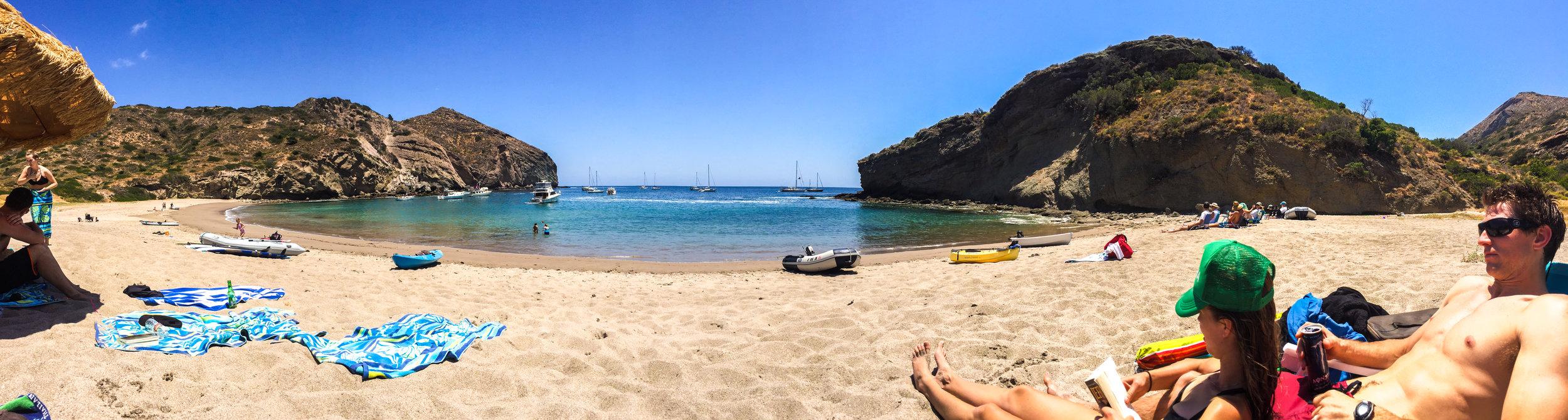 Best beach on the island.