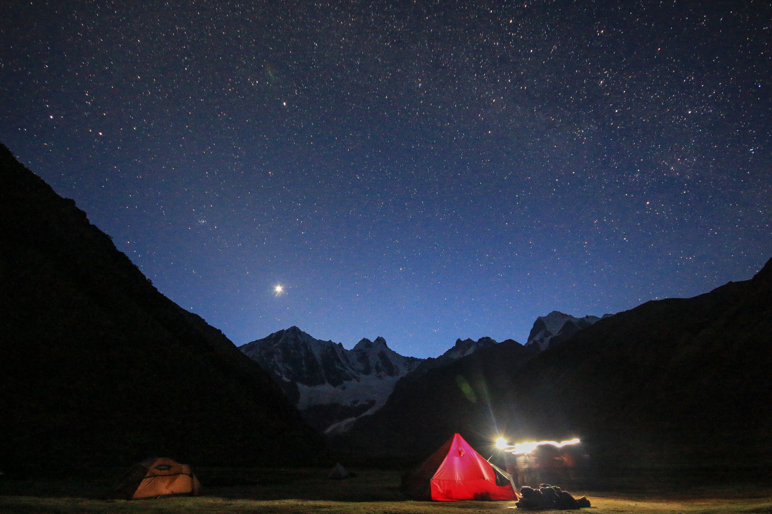 4am start for our last day of trekking.