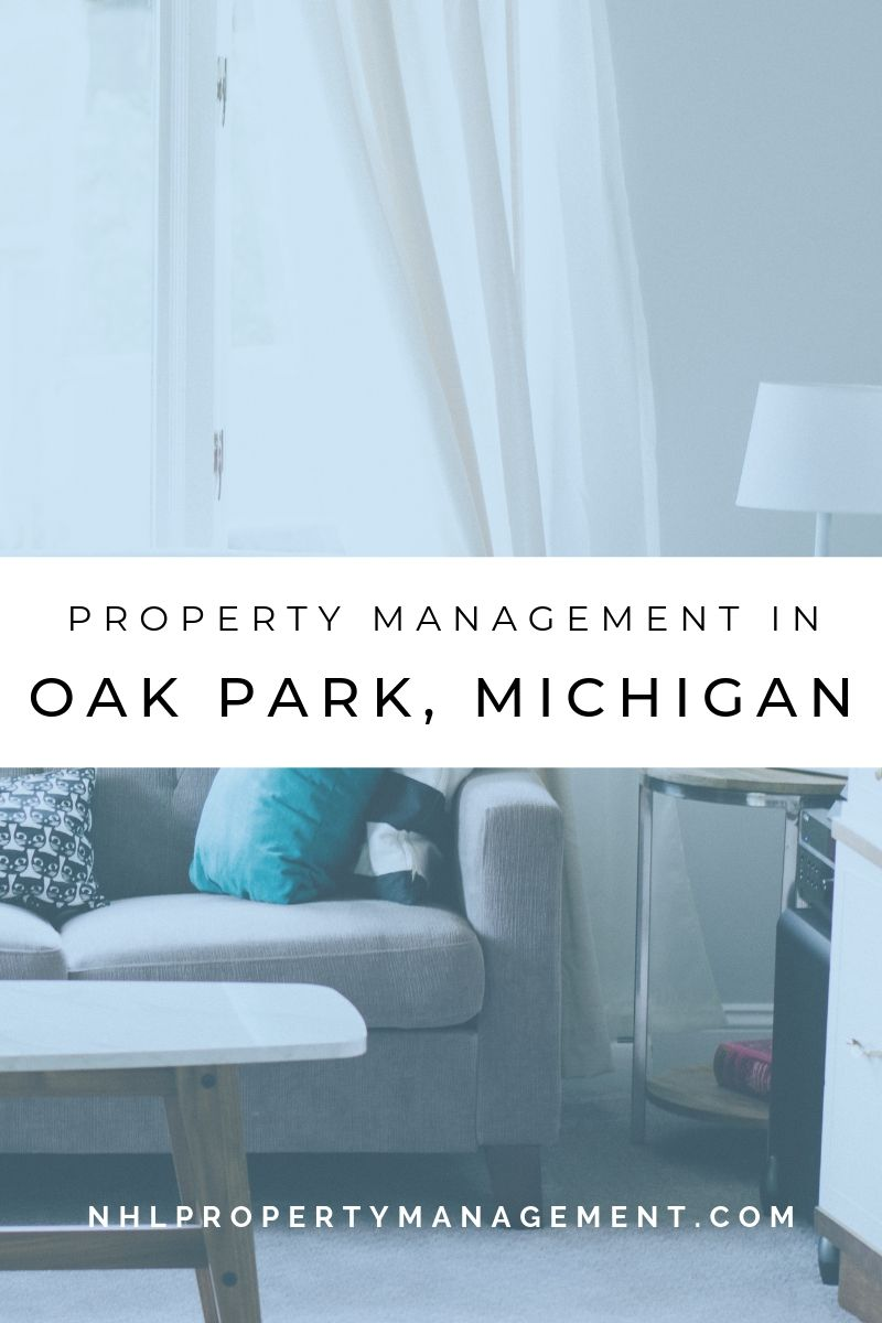 Property Management In Oak Park Michigan