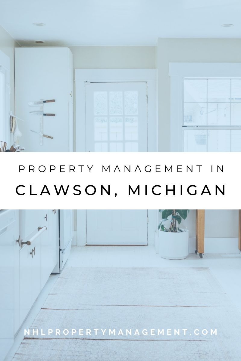 Property Management In Clawson, Michigan
