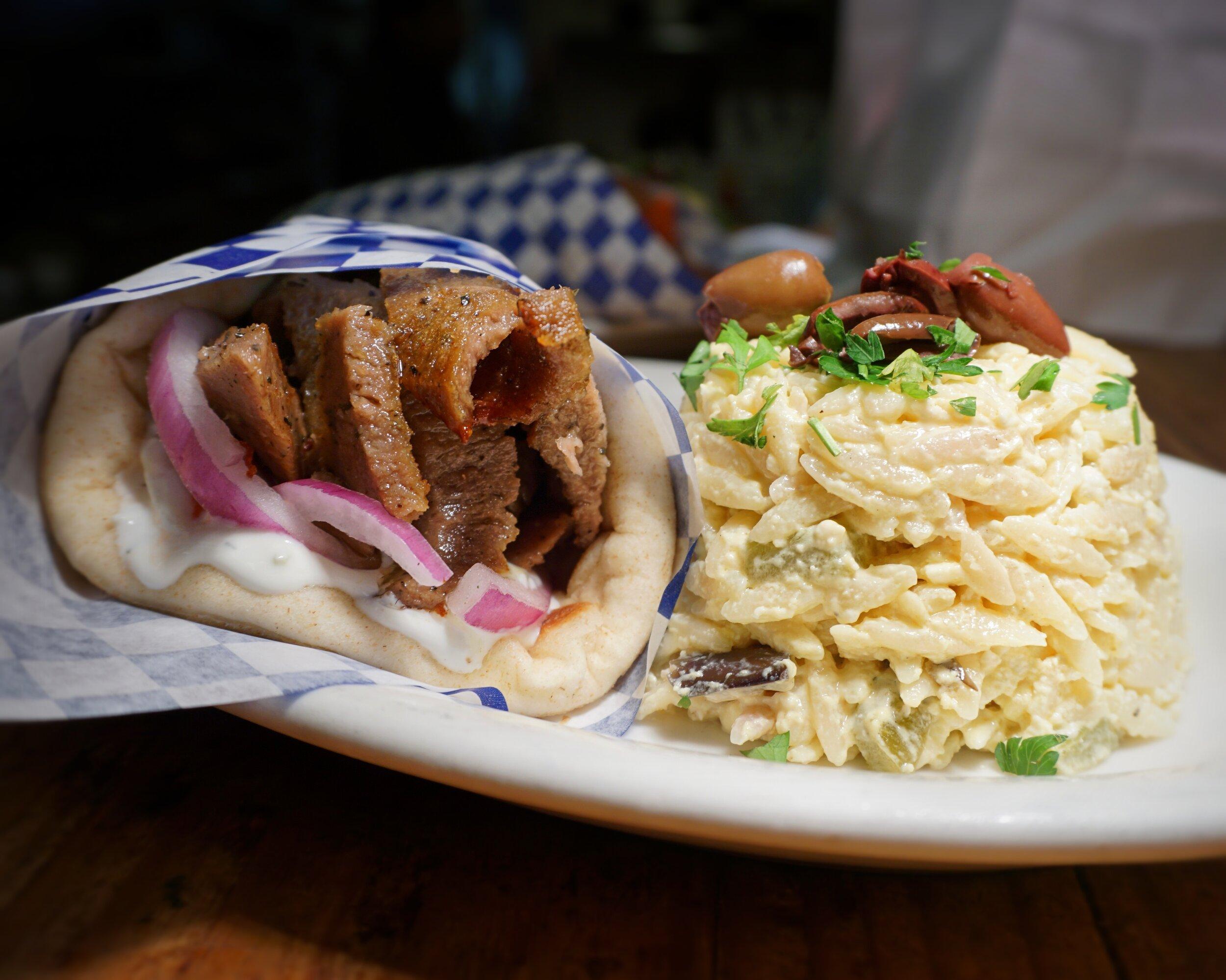 Ikaros Gyro Sandwich
