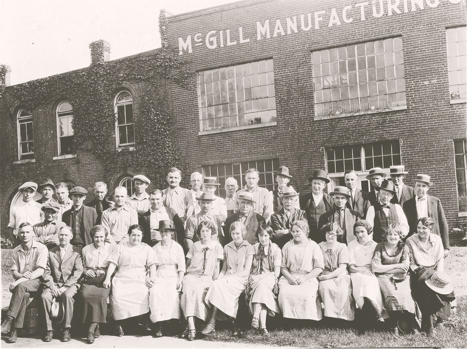 Employees of McGill Manufacturing Company | June 21, 1924