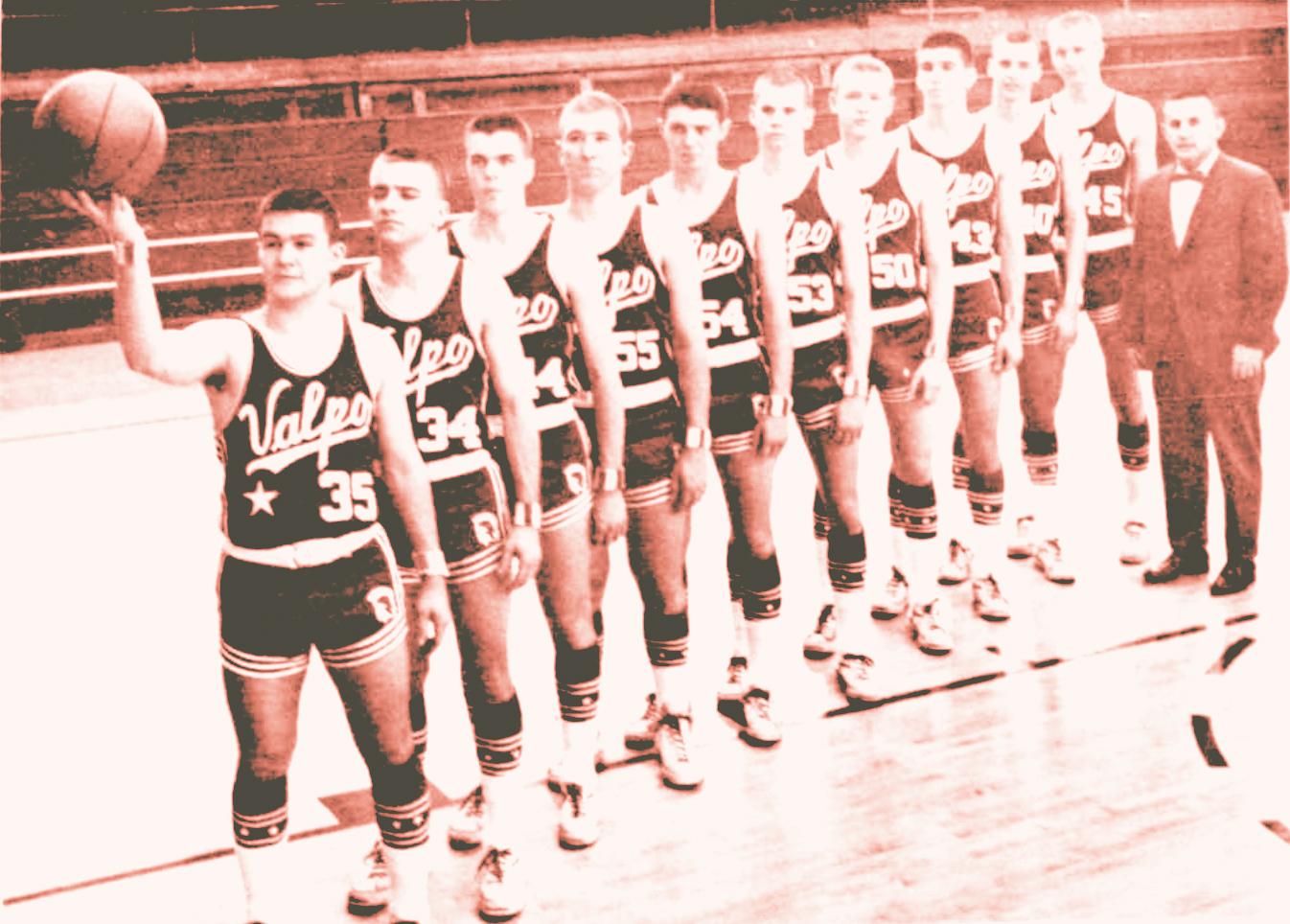 Valparaiso High School Varsity Basketball 1969