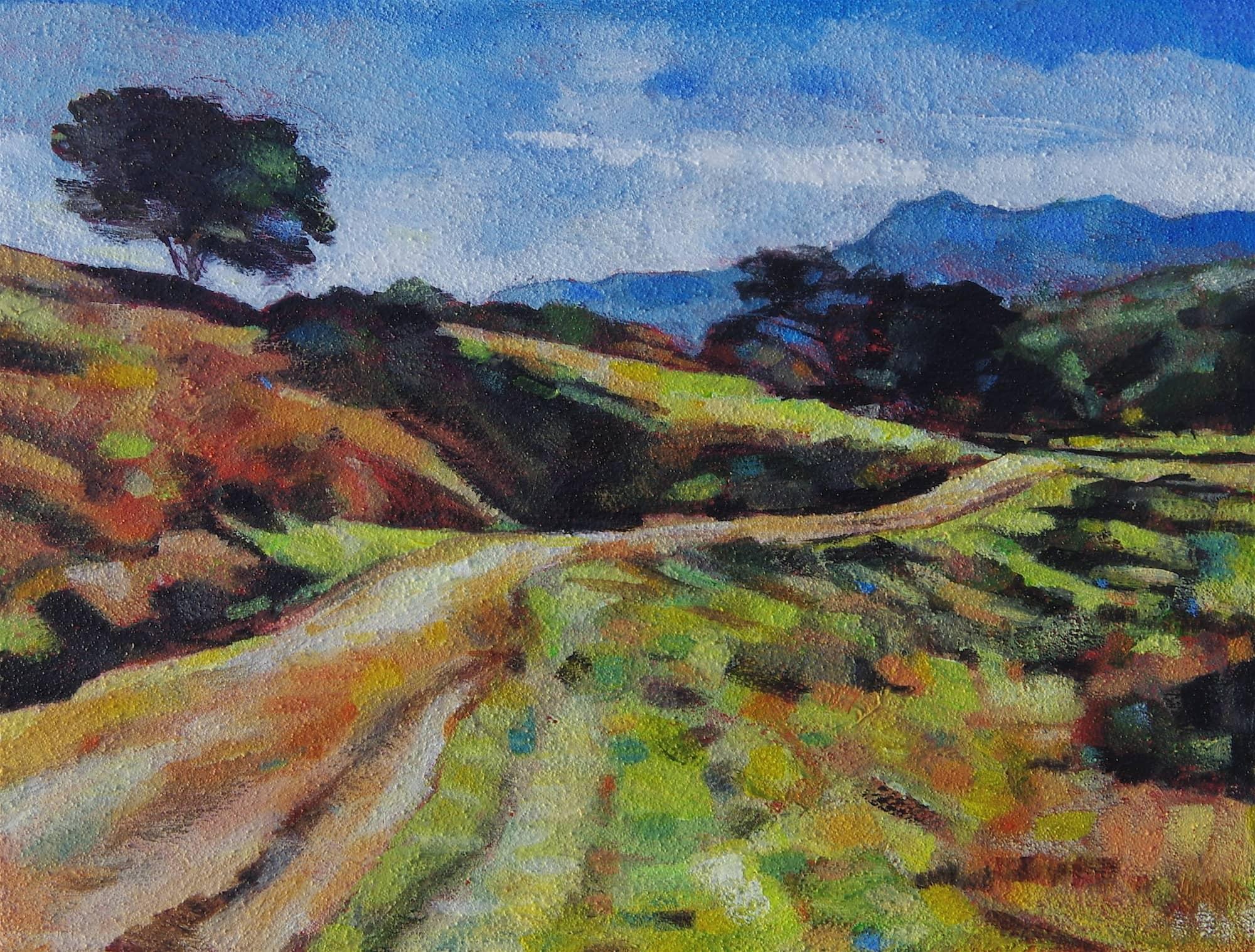 Mt Tam View Sleepy Hollow Trail