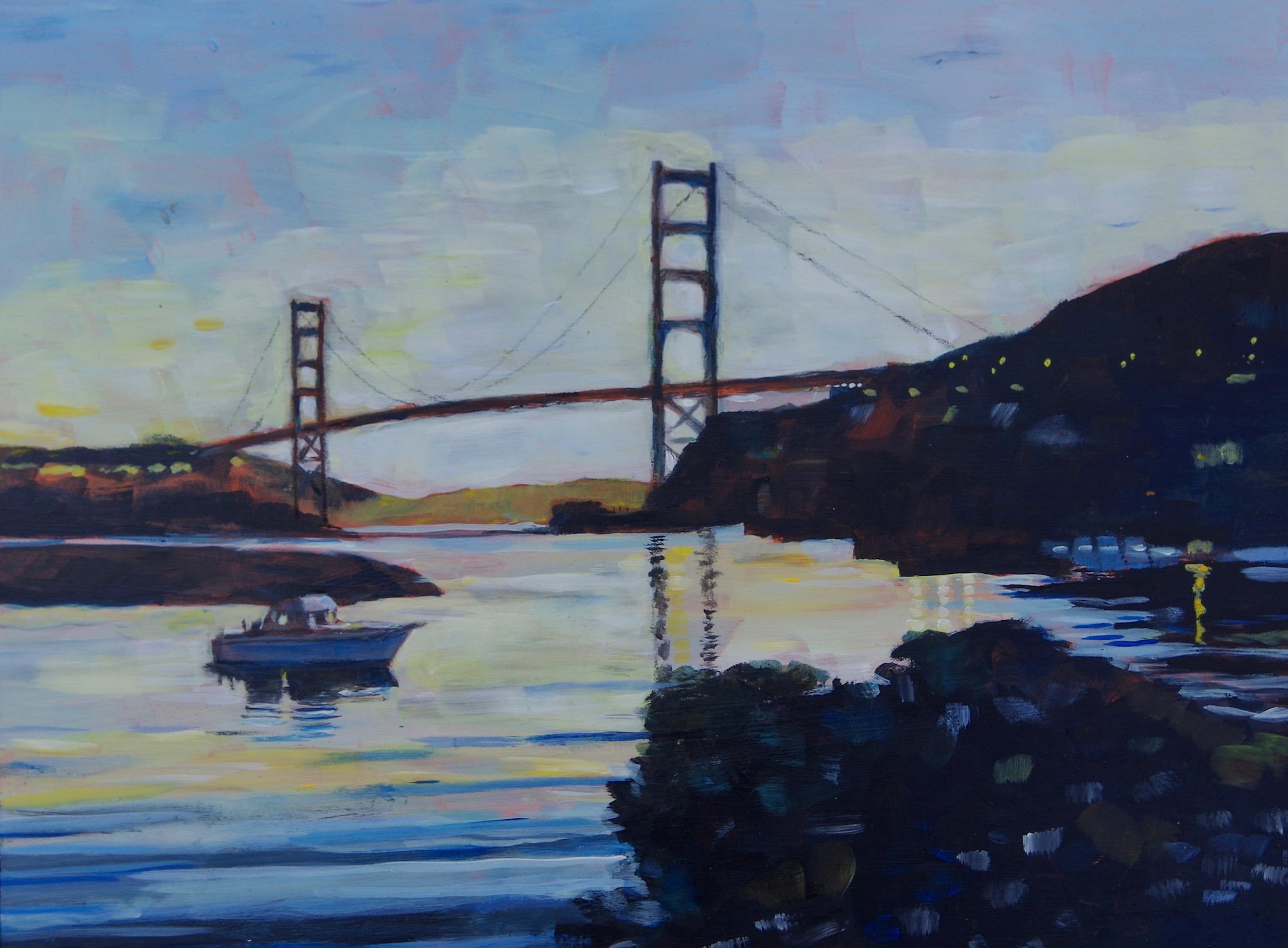 Golden Gate from Marina