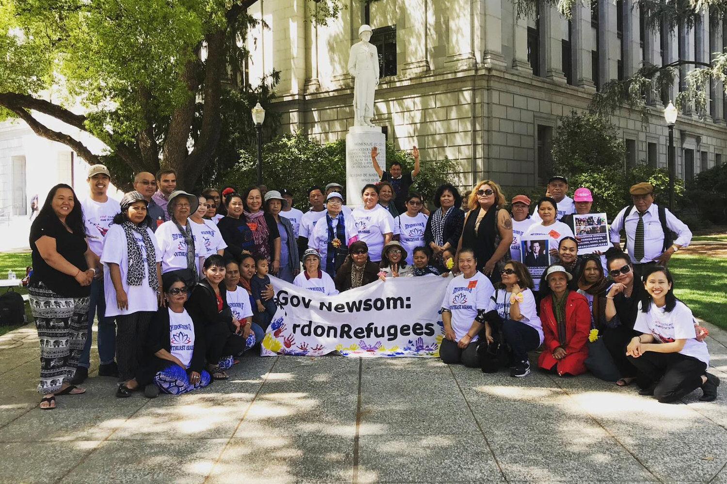 After Mother's Day Action on May 10th, 2019, Khmer mothers, aunties, and elders gathered to celebrate a successful rally and advocacy event to advocate for impacted community members to stay home.
