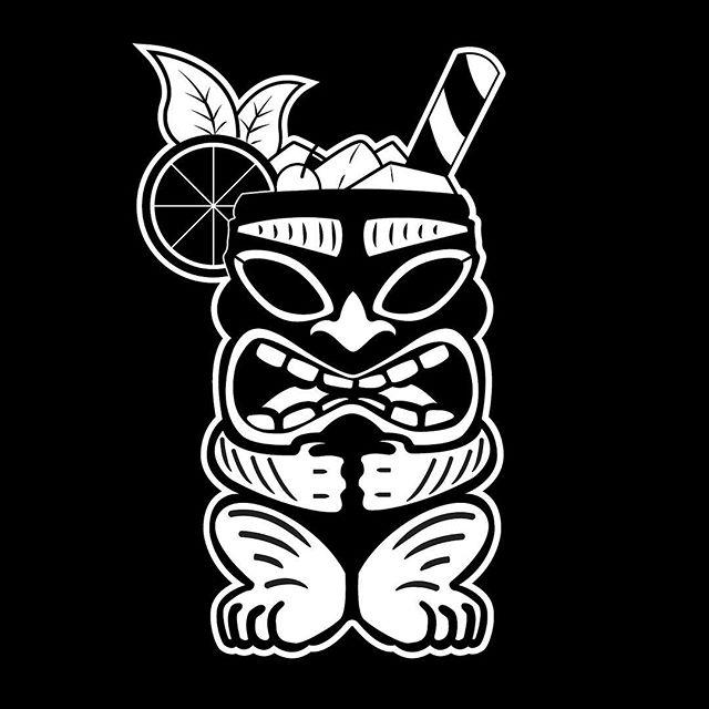 Happy National Rum Day! Get you some sugar cane distillate. Tiki style. 🤙🏽🍹 . . . . #bartender #barlife #dtr #pourthings #fakesmile #NationalRumDay #bartenderlife #tiki #rum #tropical #raleigh #pour #stir #cocktailporn #cocktailhour #happyhour #rdu #graphicdesign #graphicdesigner #blackandwhite #brazilian #caribbean #alcohol #serverlife #tikidrinks #tipordie