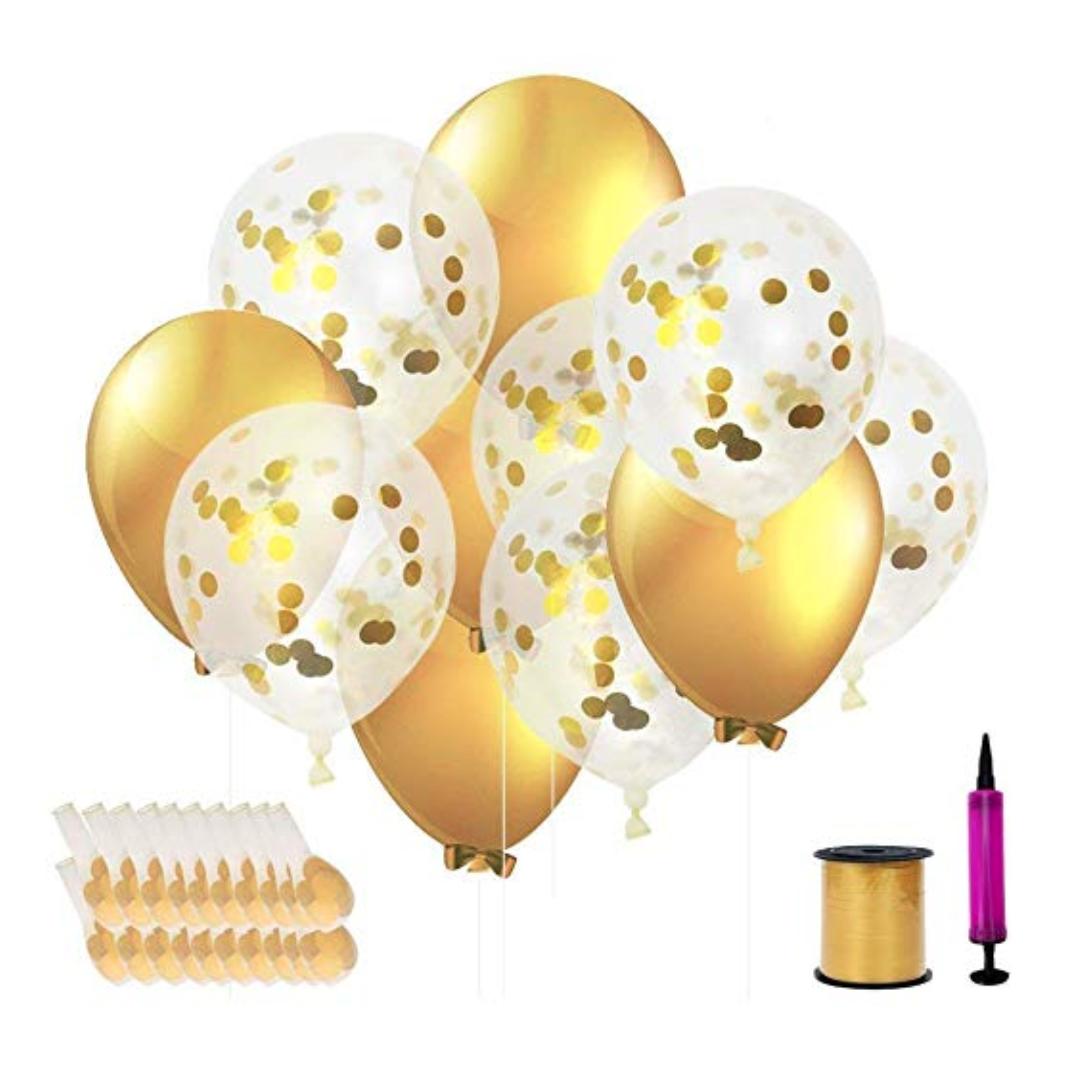 Gold Balloon Pack