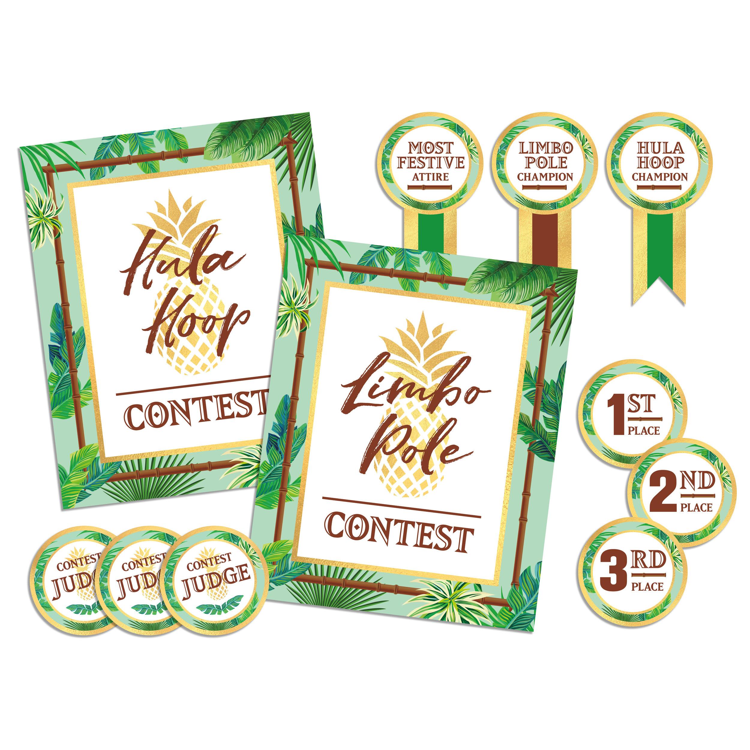 Luau Contest Pack