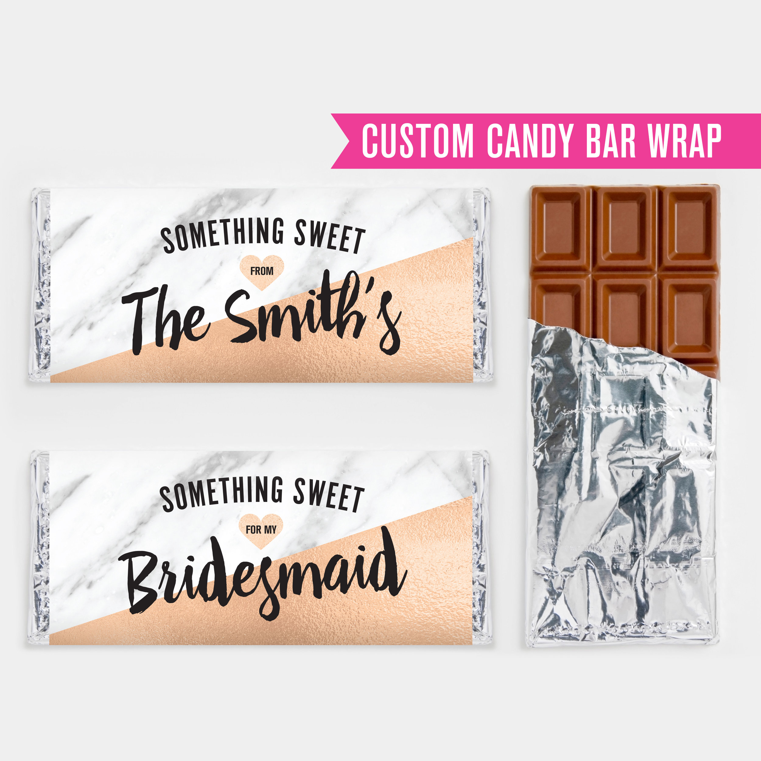 Custom Candy Bar Wraps