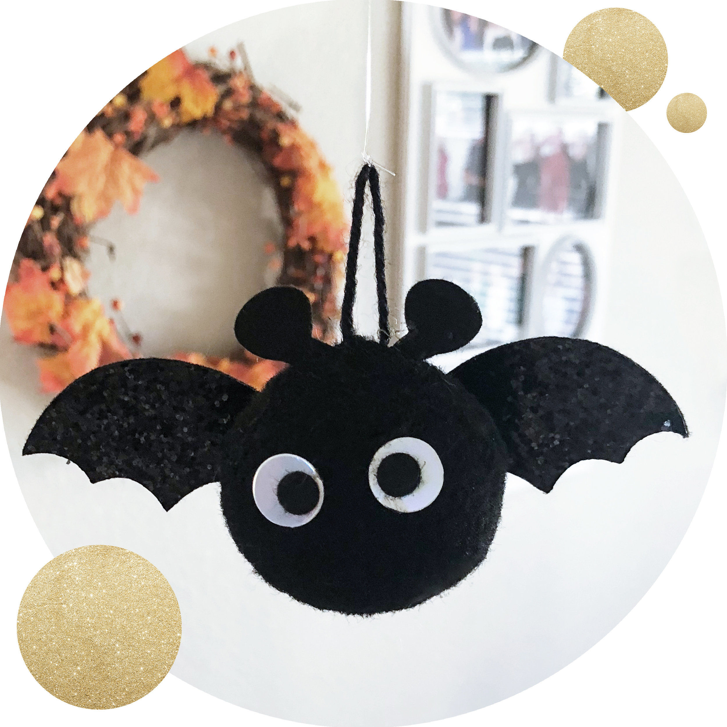 Halloween Flying Bat Decor — & Pop