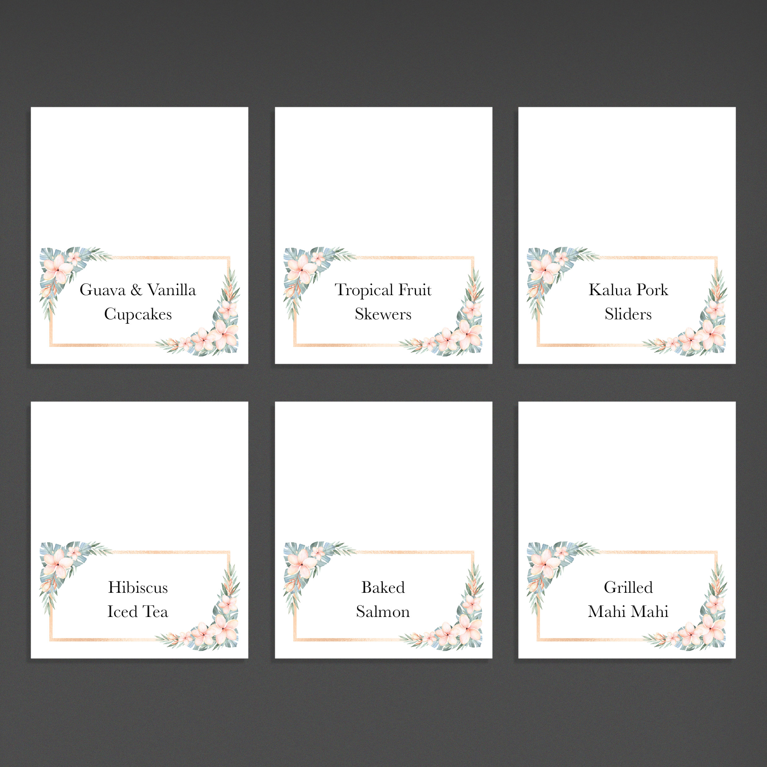 Tent Cards / Place Cards