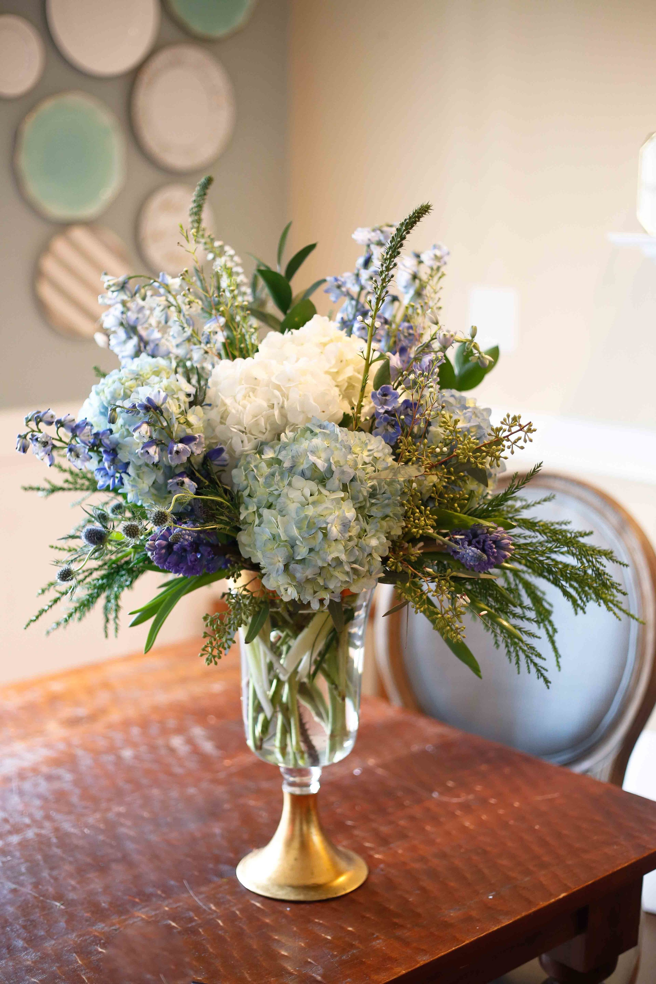 BLUE SUEDE SHOES , Charlottesville flower delivery