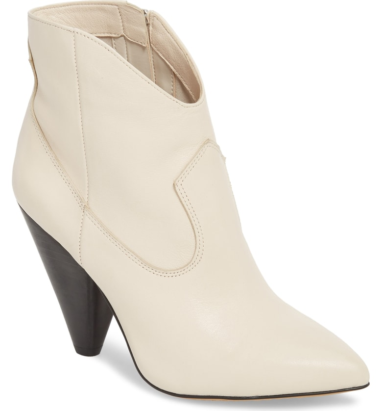 White Booties -