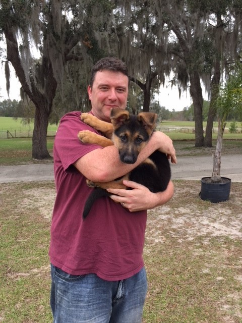 """A new family and a new name … meet """"Maverick."""""""