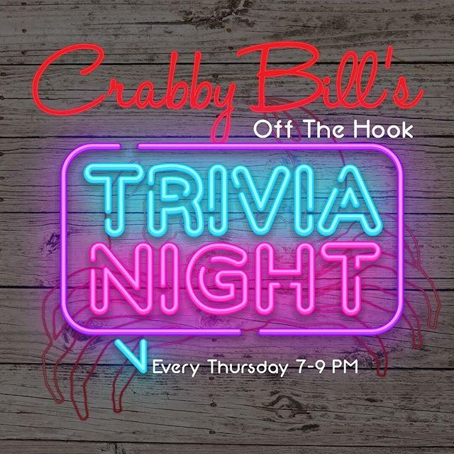 Ask and you shall receive! 🏆 Trivia is back this Thursday at 7pm!