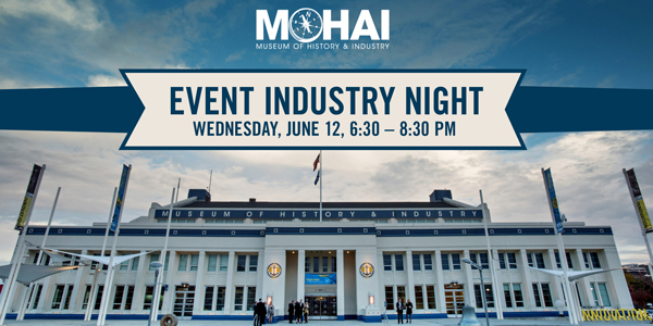 MOHAI EVENTS & HOSPITALITY INDUSTRY NIGHT    Join your industry friends and explore the newest exhibit,  Seattle Style: Fashion Function . No excuses because it's FREE to attend.