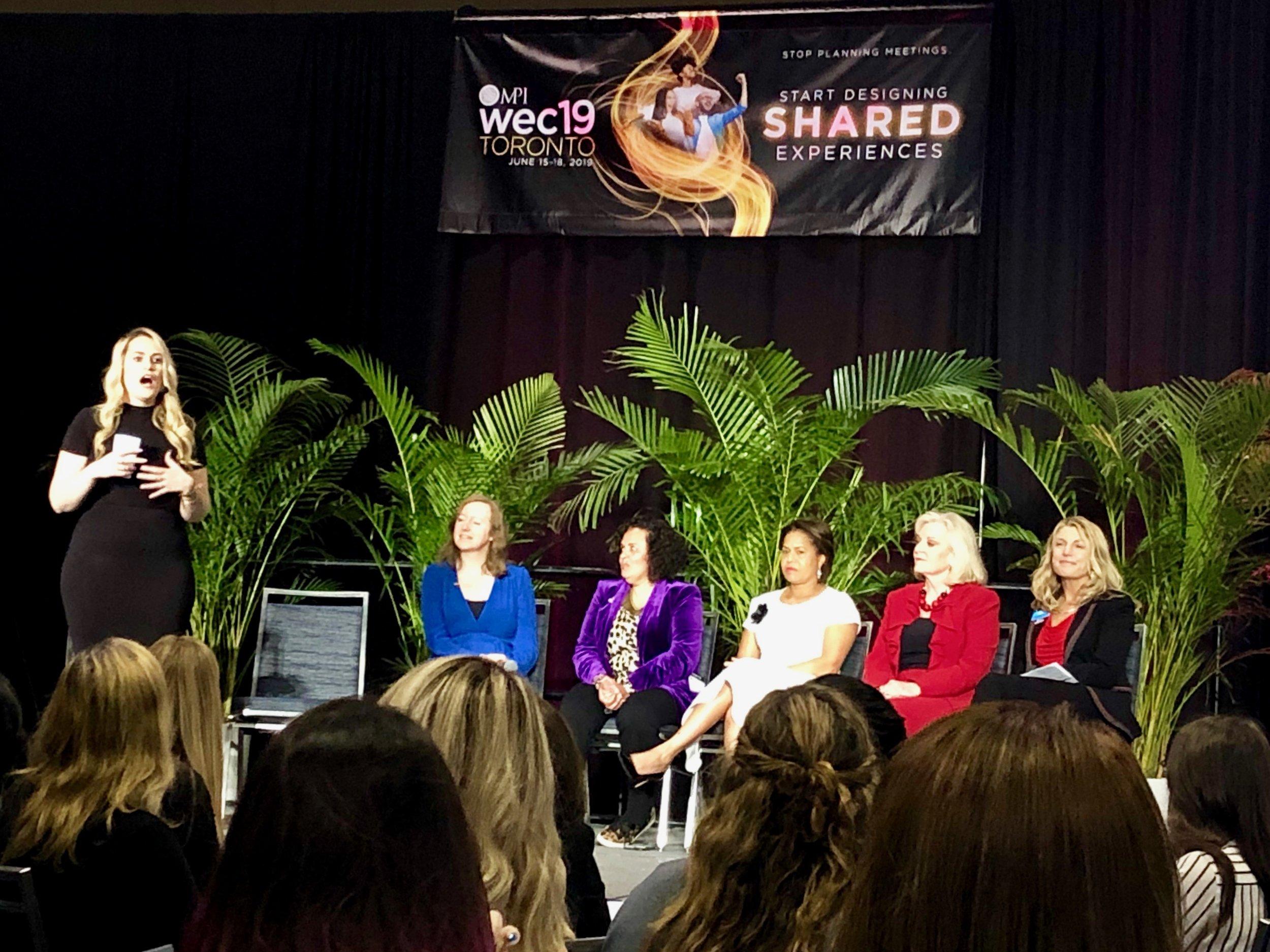 Panel of amazing women