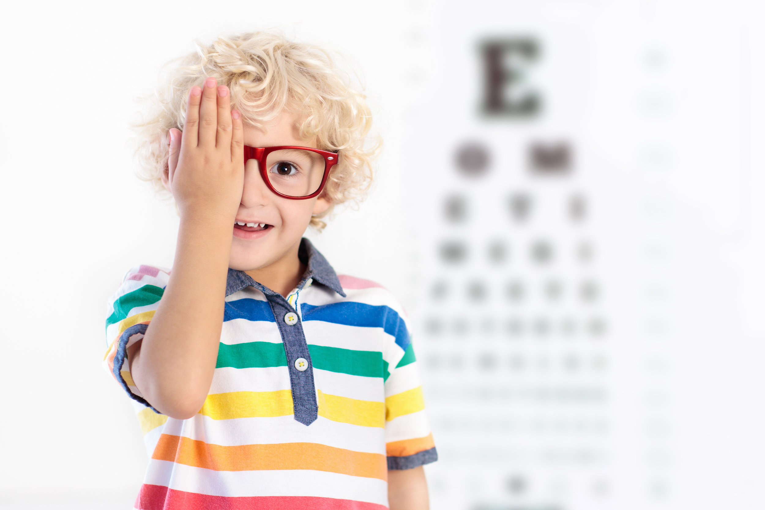 It can often be difficult to properly diagnose and treat children with vision issues. The thought of a first visit to a new doctor can also be a scary proposition to your little one! -