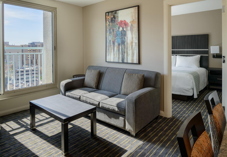 Hotel Apartment Living Area