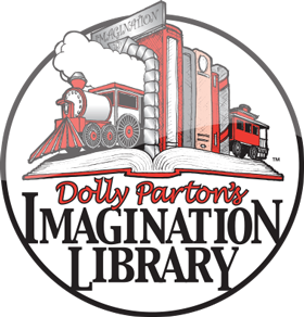 Dolly Parton's Imagination Library - Children, birth to five years of age, who reside here in Hancock County, can register to have one age-appropriate book mailed to their home every month, at no cost to the family.