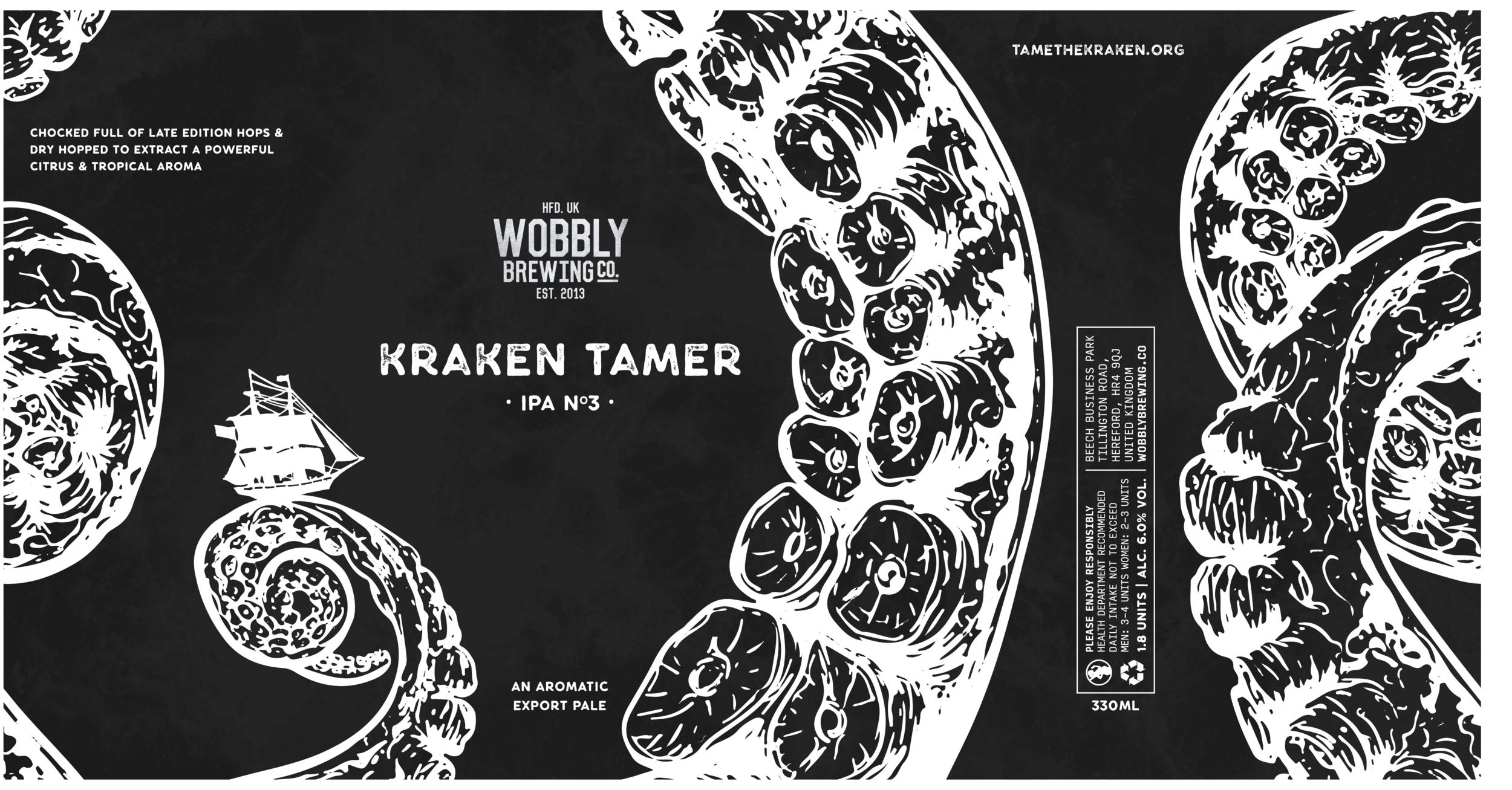 Kraken Tamer IPA Flat