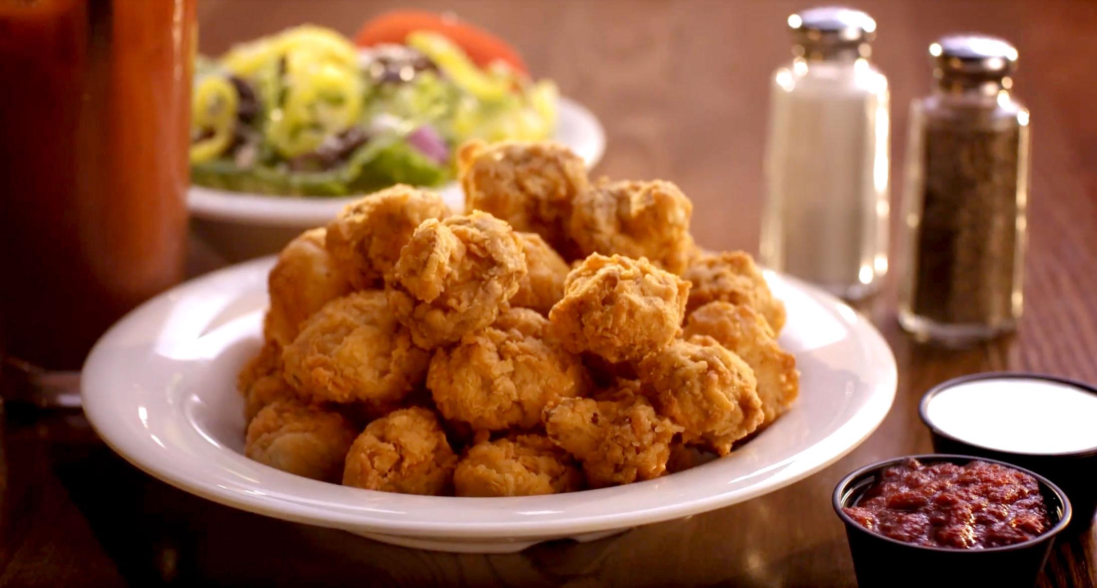 - Fried Mushrooms :30 TV