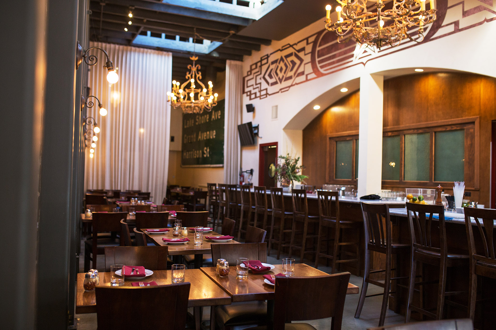 Commercial Restaurants - Most of our team has had a start in restaurants, which is where all aspects of construction comes into play; from working with architects, designers, permitting, zoning and so much more. We can start restaurants for clients from scratch.