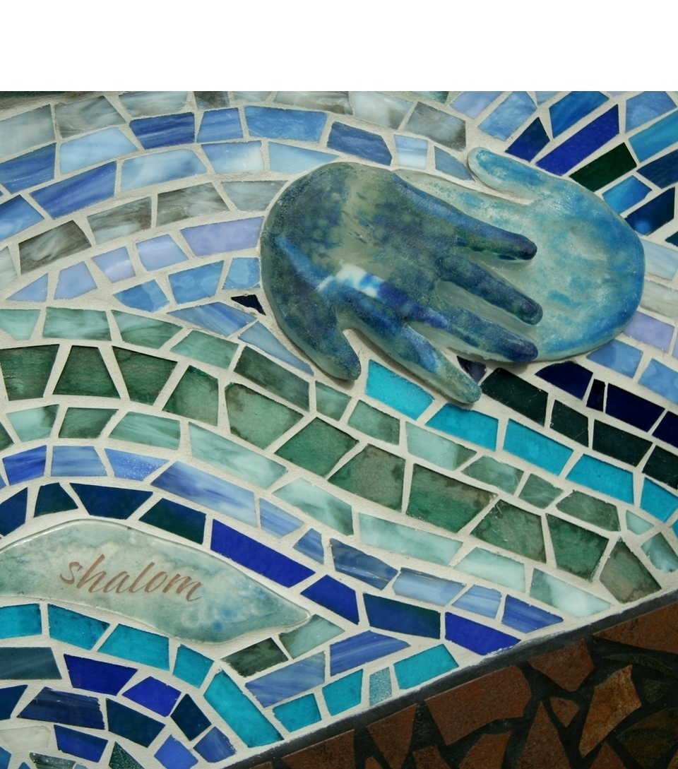 - A poem written for Salem by former Oregon Poet Laureate Paulann Petersen flows throughout the sixty foot long mosaic and includes the lines: