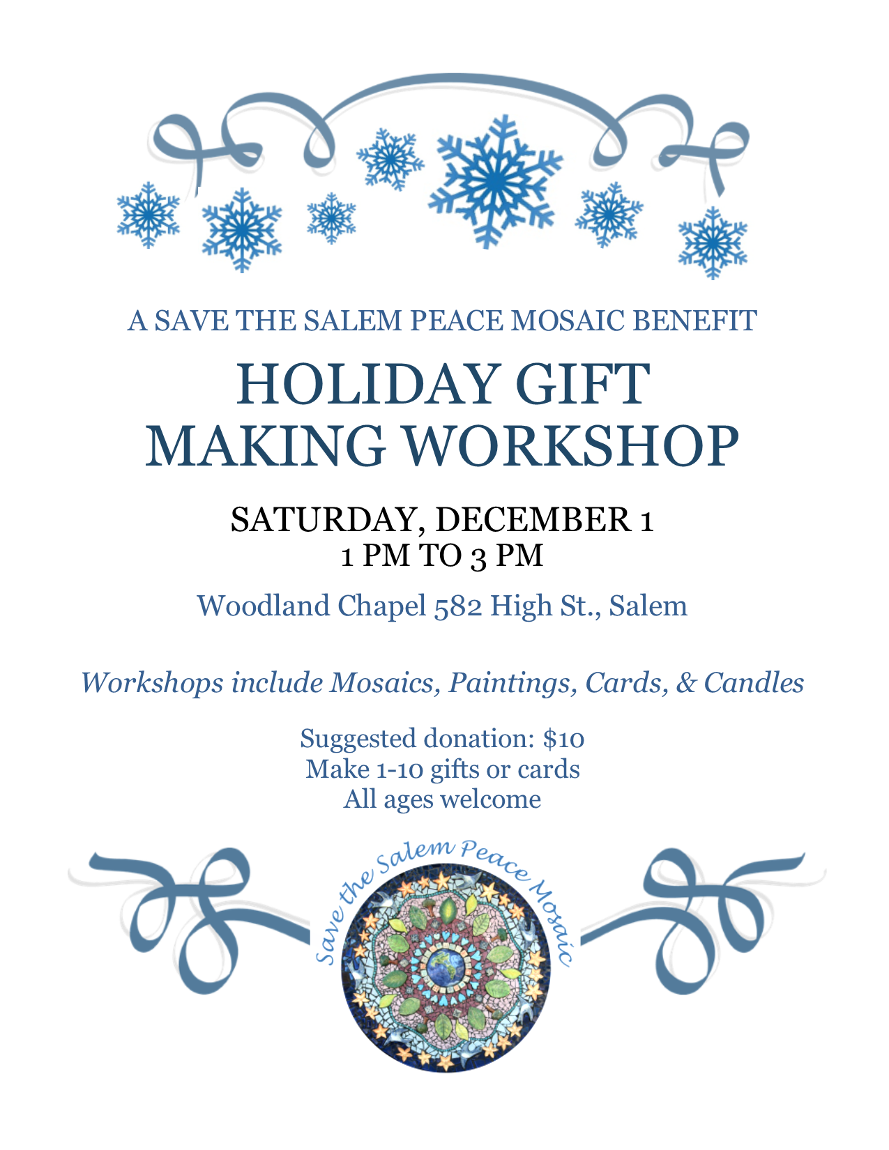 Holiday Gift Making Workshop
