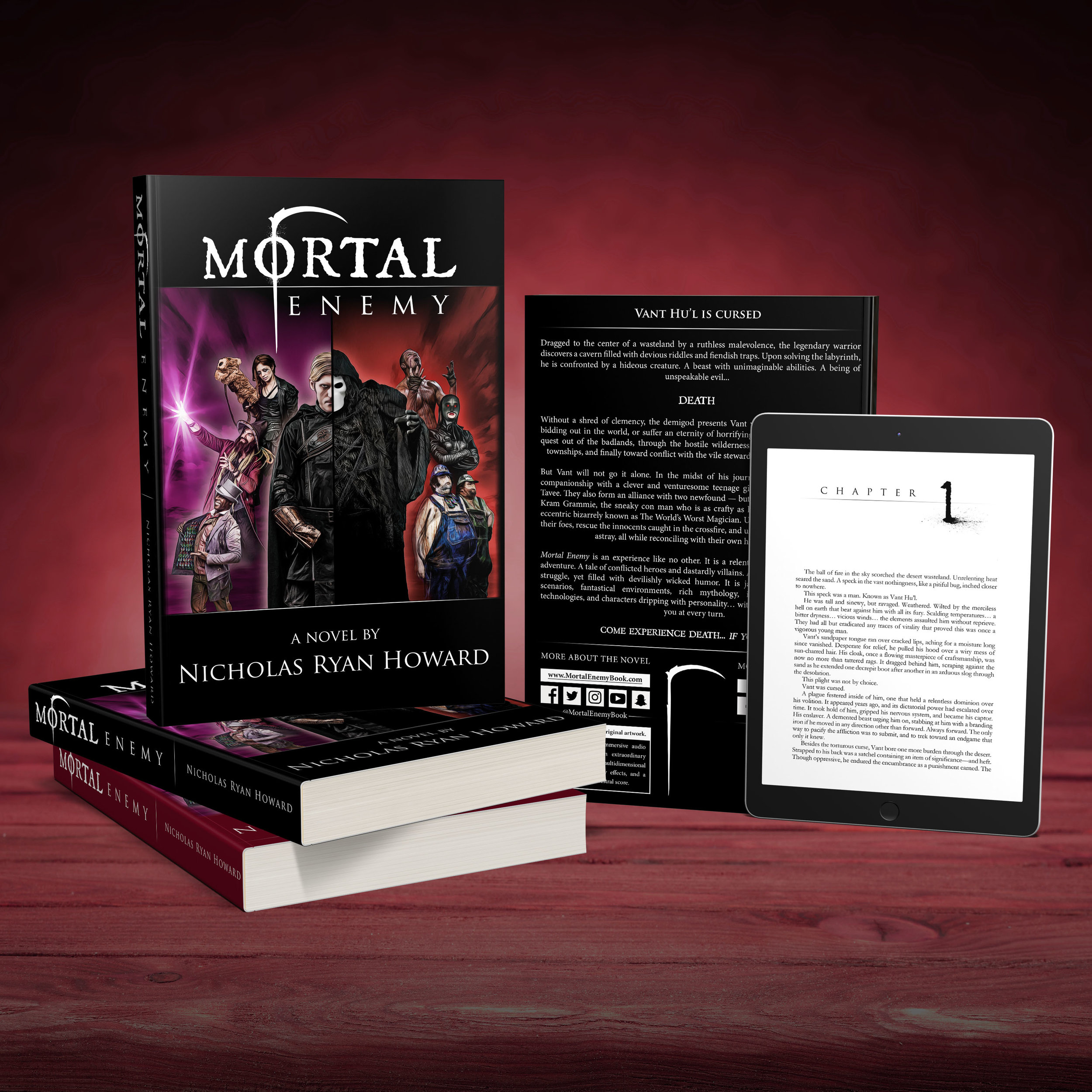 Mortal Enemy - The Novel