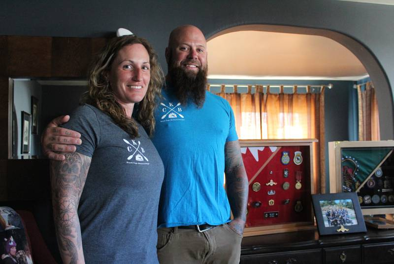 Katie LeBlanc and Matt Kyte of New Waterford are purchasing Kayak Cape Breton and Cottages in West Bay, Richmond Co. The couple plan to expand the number of cottages and build a yurt and a geodome on the property - Chris Shannon