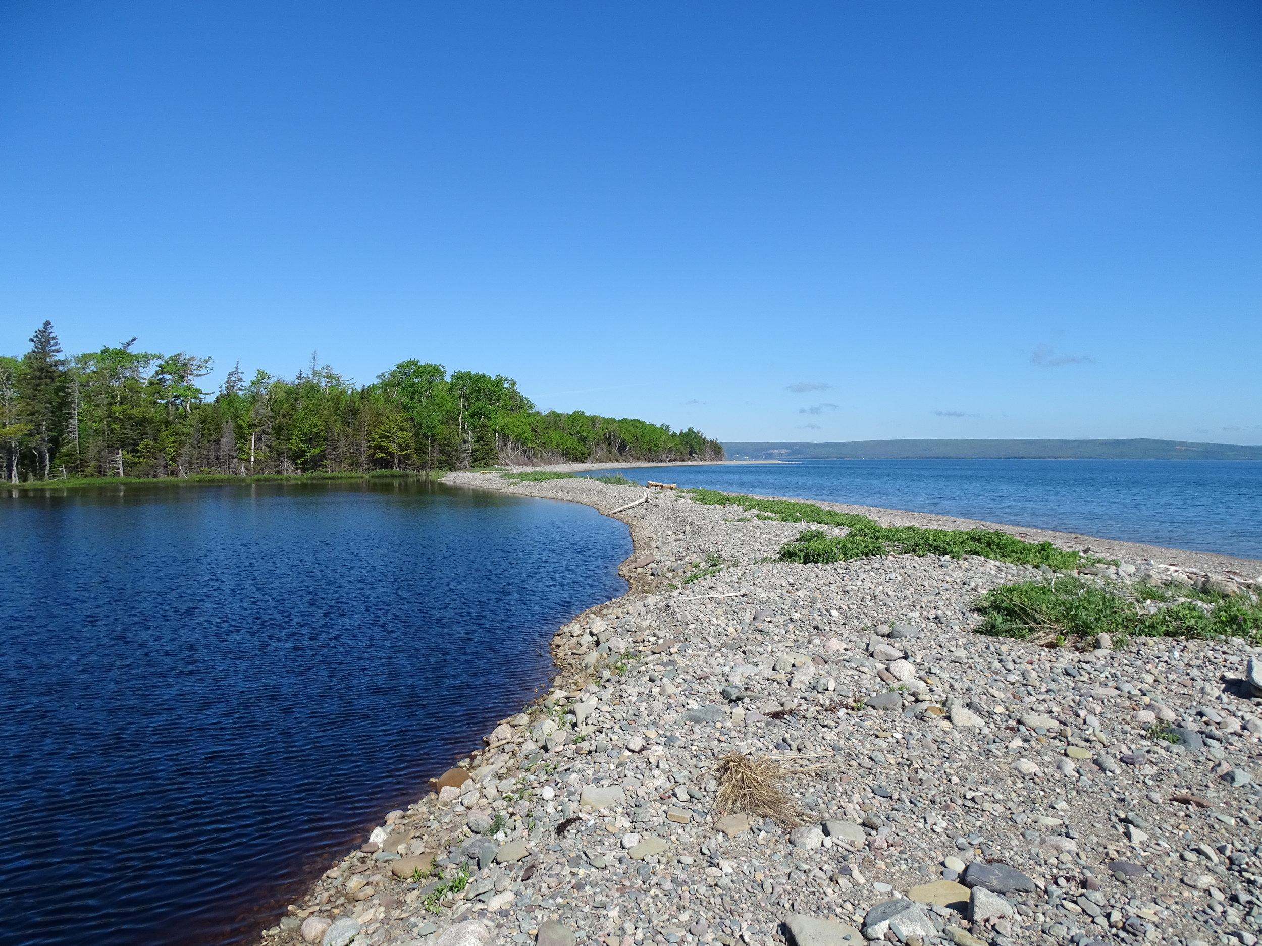 lake and black pond.JPG