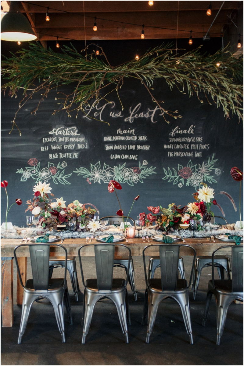 perfect holiday tablescape