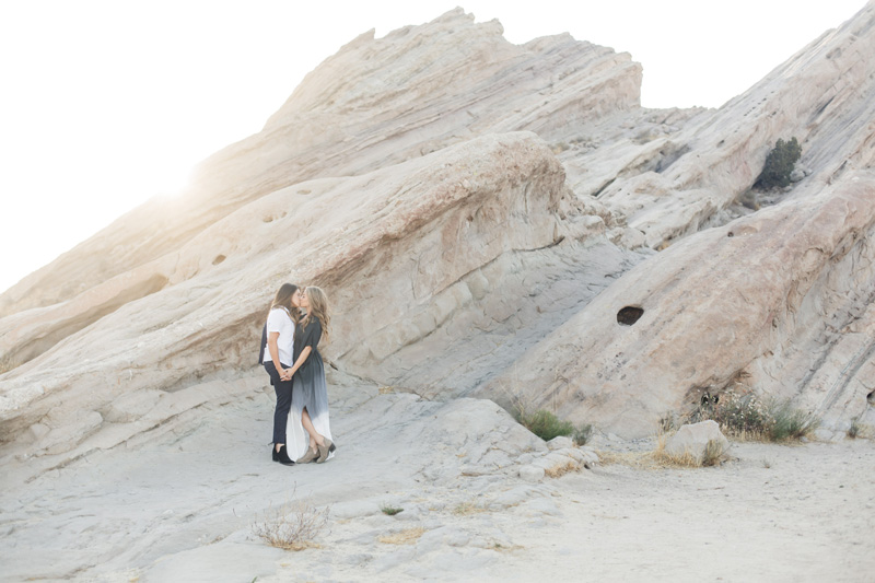 Vasquez Rocks Engagement Session