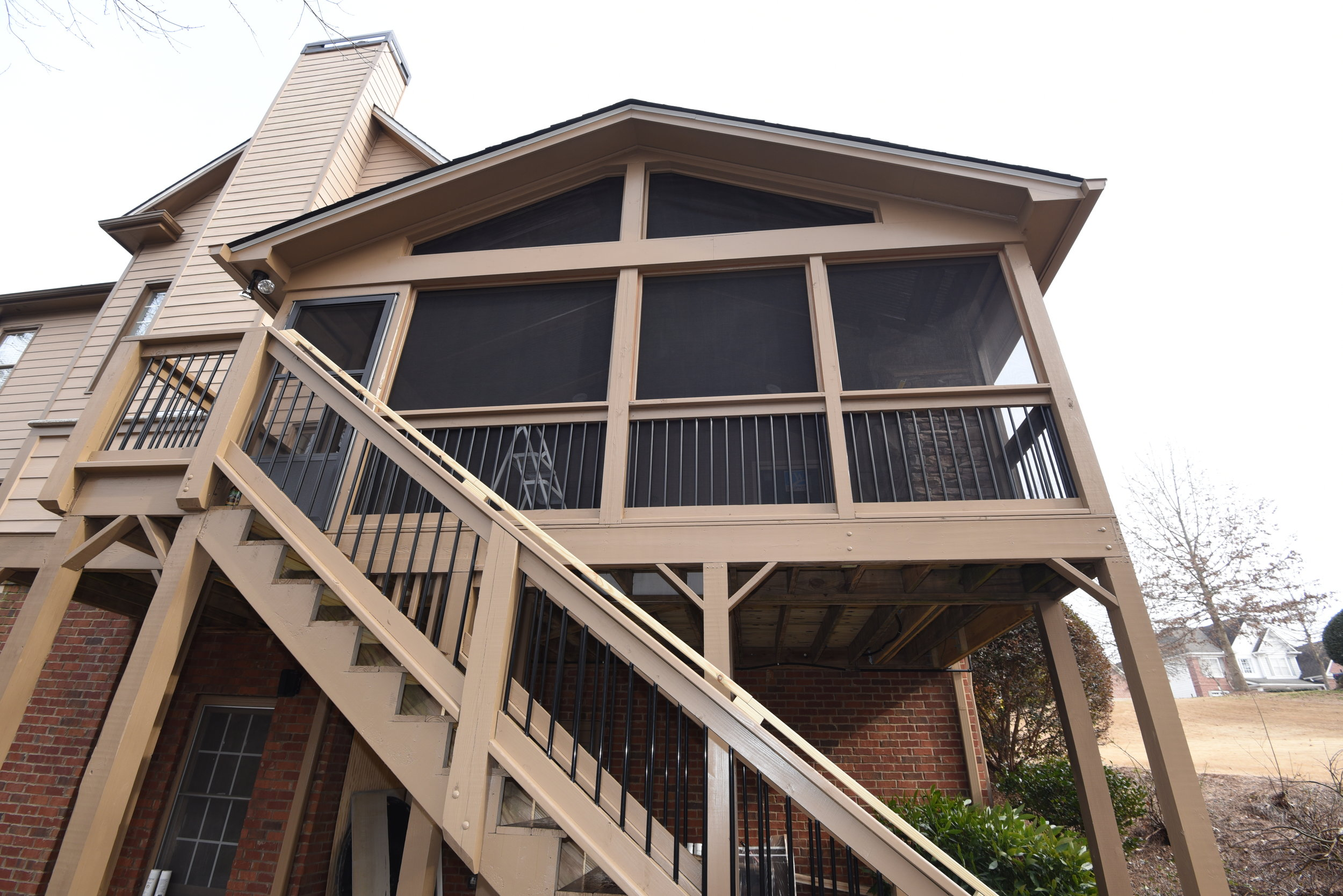 Sunroom & Screen Porch - A four-season room is the ideal way to add beauty, value, and functional living space to your home in Roswell, GA. This cost-effective addition allows you to relax under the stars, enjoy the soothing sounds of falling rain, and provide a safe, insect-free play area for children.