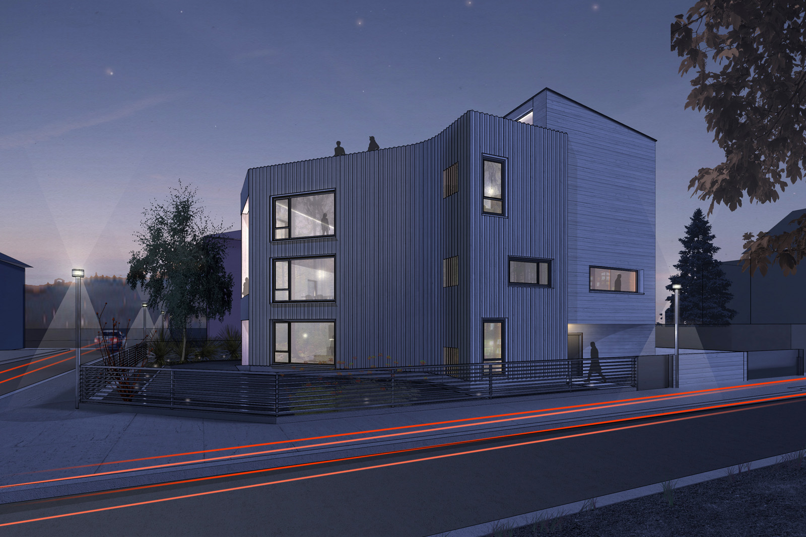Proposed multi-family house