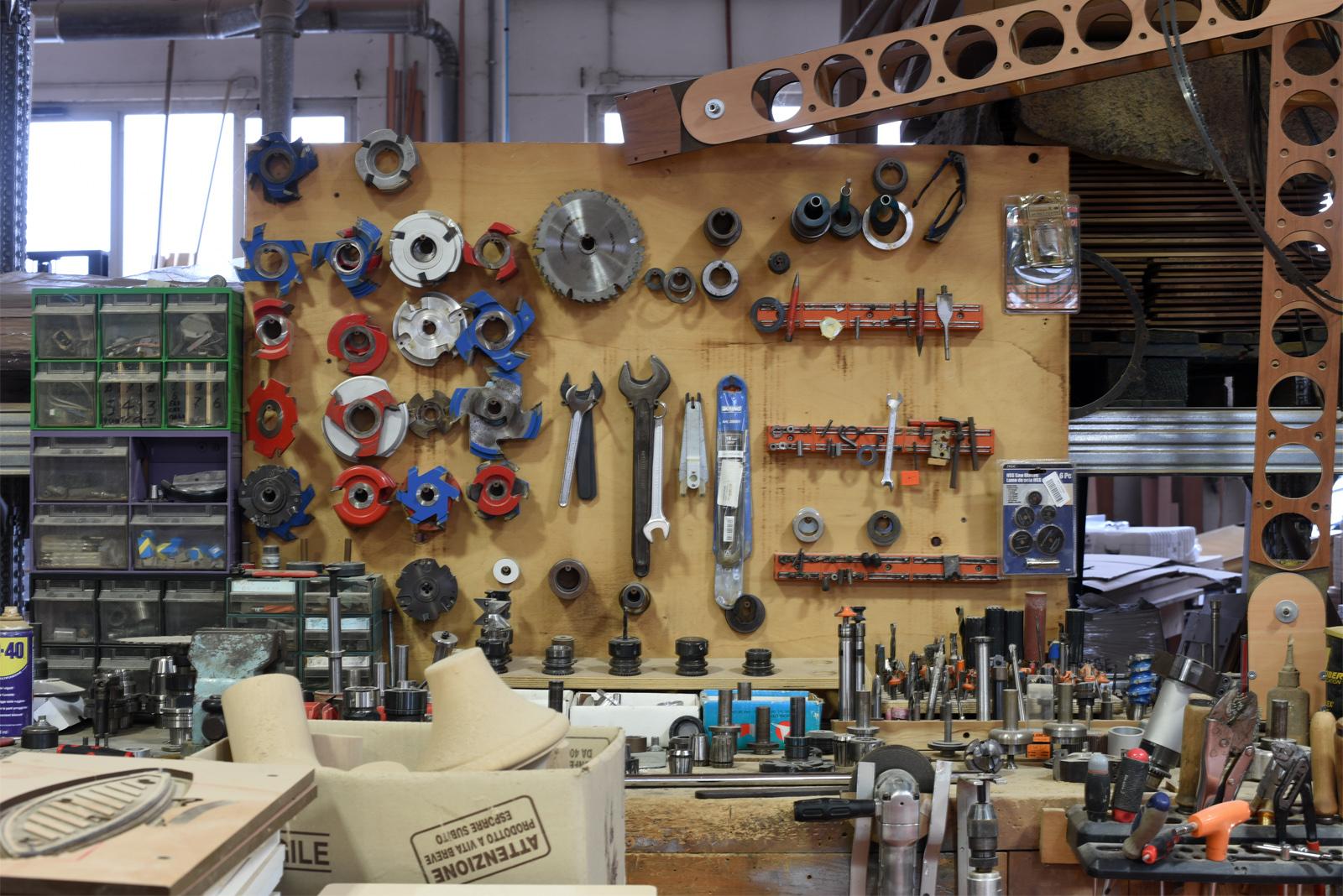 Tools. Lots of them.