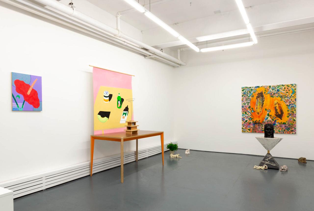Still Big installation at the Tiger Strikes Asteroid gallery in New York.