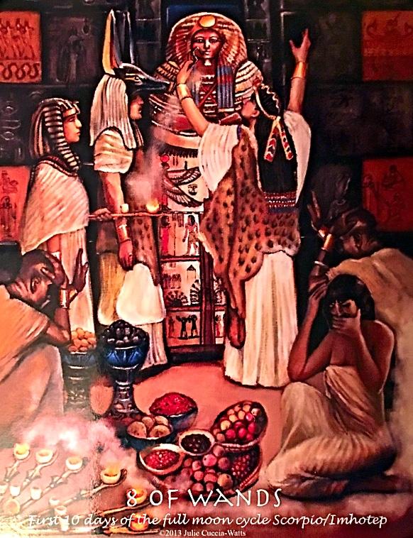 Image :  Journey Into Egypt Tarot