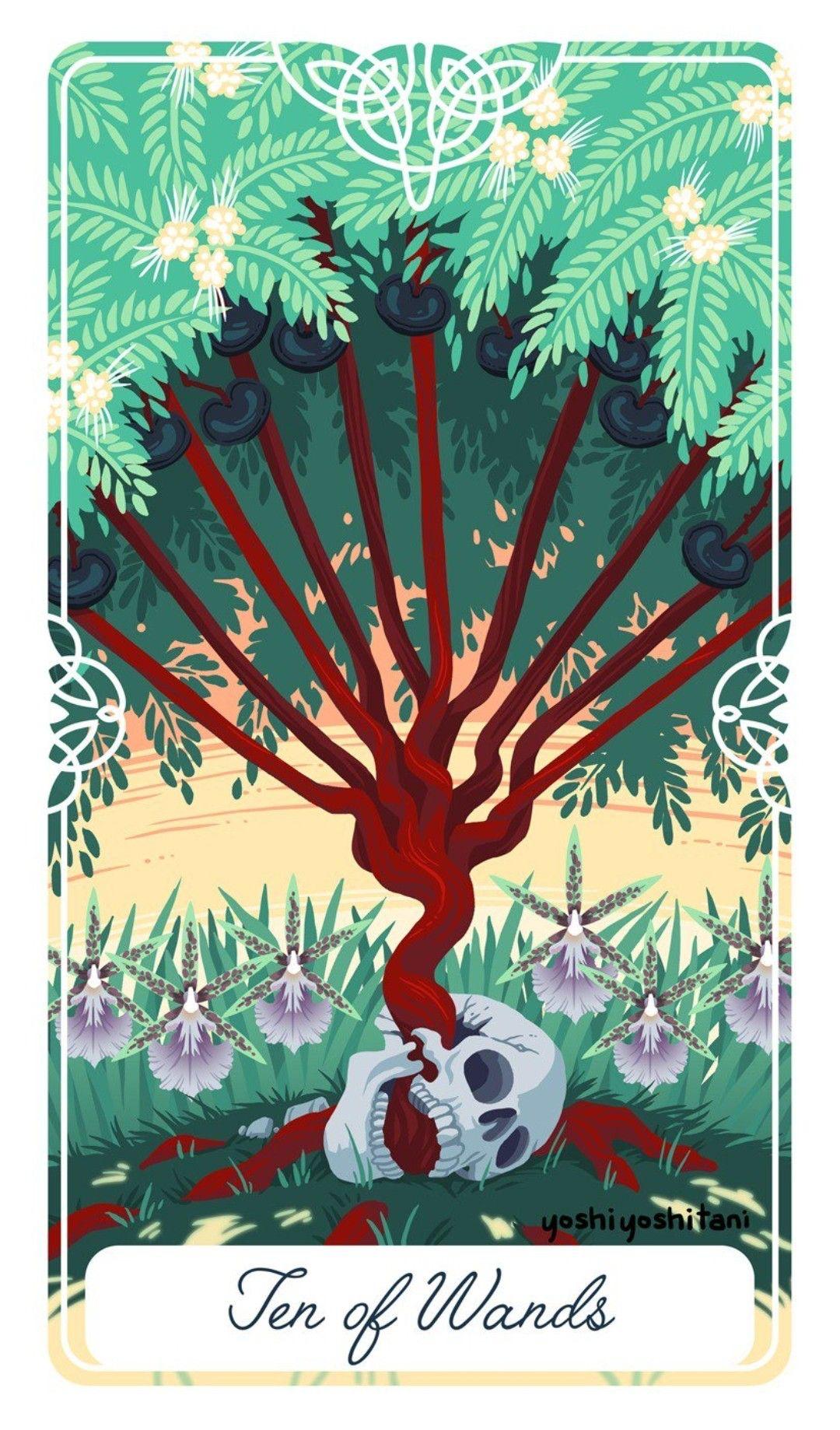 Image : Fairytale Tarot by Yoshi Yoshitani