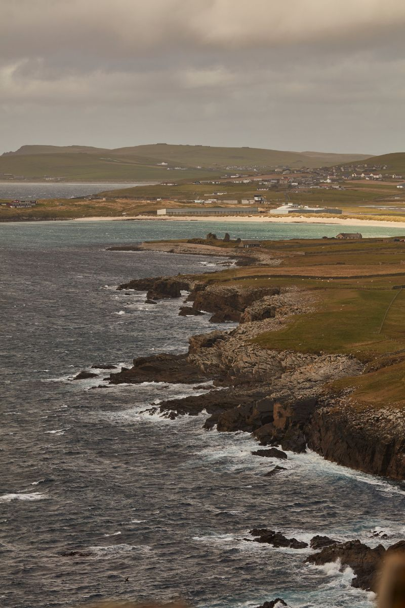 Shetland Islands - The northernmost enclave of the UK is full of craggy beaches, rolling hills, and swarms of sheep