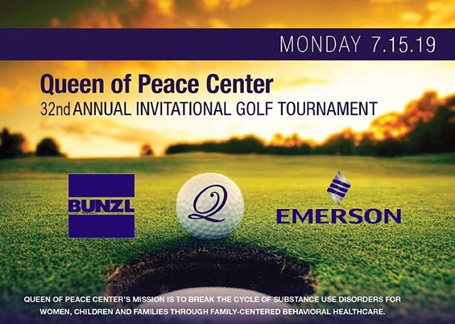 The third Monday in July each year is always a special day for us because IT'S GOLF TIME! Join us for our 32ND GOLF TOURNAMENT on July 15th to help us break the cycle of substance use disorders and support the women, children, and families we serve! We are so lucky to have the generous support of our committee and Major Sponsors, BUNZL and Emerson, once again! Without you all, this day is simply not possible! We look forward to making this another amazing year with you by our side! Registration is now open on http://BidPal.net/qopcgolf 🏌🏻‍♂️🏌🏾‍♀️⛳️