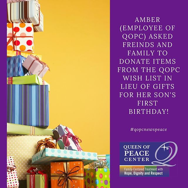 🎁🎈The gift that keeps on giving! Thank you, Amber! #qopcnewspeace #kindgestures #givingbacktothecommunity #employeeappreciation