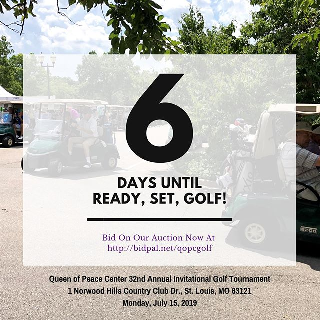 You may have to wait 6 whole days for our 32nd Golf Tournament, but you don't have to wait to start BIDDING! Let the fun begin and go check out what live, super silent, and certificate items we have this year at https://one.bidpal.net/qopcgolf/browse/all ‼️‼️ #charityevent #charityfundraiser #auction #golftournament #nonprofit #openbidding #onecause